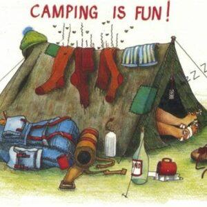 Camping plats på klubben